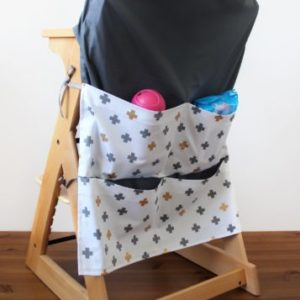 Lg-Grey-Gold-Cross-High-Chair-Caddy