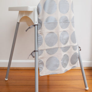 Sml-Metallic-Silver-Spot-High-Chair-Caddy