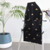 Landscape-black-gold-triangle-small-high-chair-caddy-angle