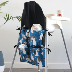 bear small high chair caddy