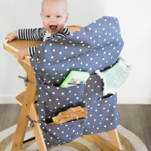 yellow spot large high chair caddy