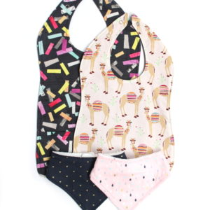 girls 4 pack bibs all sizes