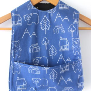 Extra Long Mountain Bear Bib