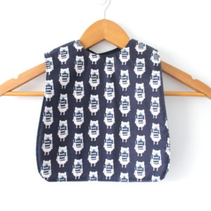 medium winter bear bib