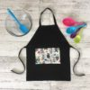 Kids Cooking Apron Party Bears Print