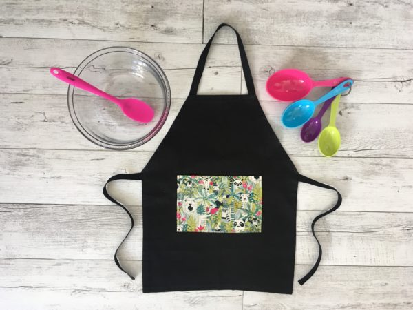 Kids Cooking Apron Jungle Print