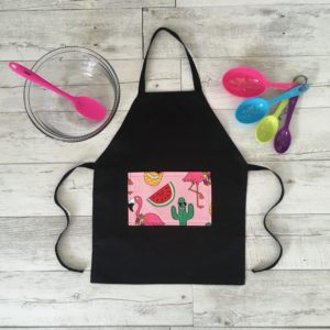 Kids Cooking Apron Summer Fun Print