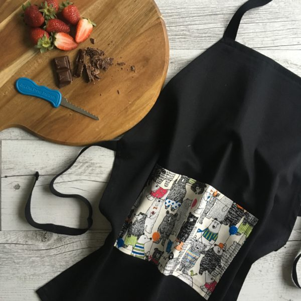 Kids Cooking Apron - Party Bears Print