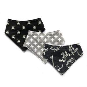 boys 3 pack dribble bibs