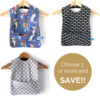 choose 3 or ore long bibs and save