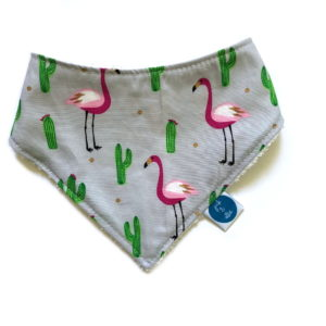 flamingo_dribble_bib